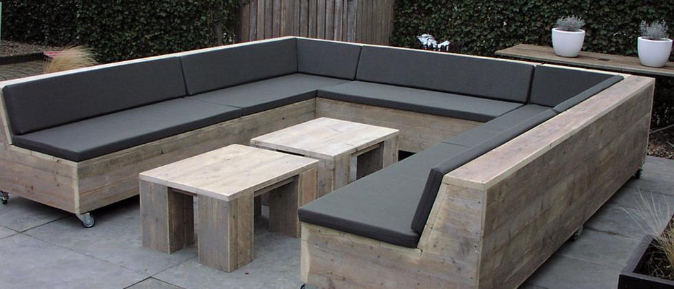 Steigerhouten meubelen maken doe het zelf for Loungeset steigerhout zelf maken