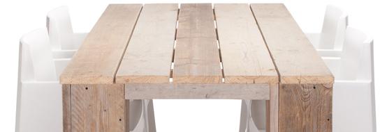 Steigerhouten tafel maken de doe het zelf tekening Steigerhouten tafel met steigerbuizen zelf maken