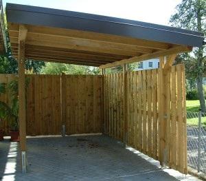 Bouwtekening carport – Goedkope tuinhuisjes