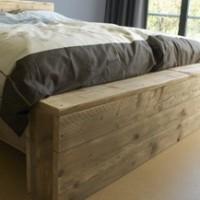 steigerhout bed zelf maken