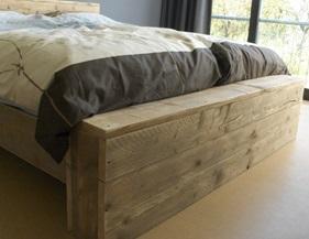 Wonderbaar Een Steigerhouten Bed Maken Doe Je Zo! JS-98